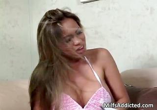 breasty oriental milf blows huge mmf hammer part9