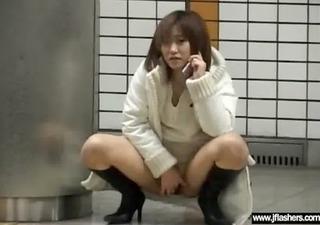 asian legal age teenager girl flashing body in
