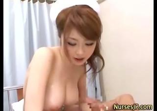 breasty nasty nurse blows