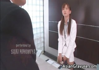 sexy and sexy asian secretary blows rigid part4