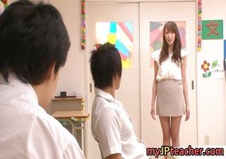 aarisa sawa is japanese teacher bitch part5