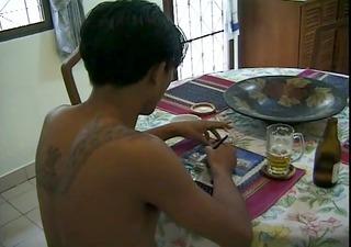 thai lads engulfing - inferno